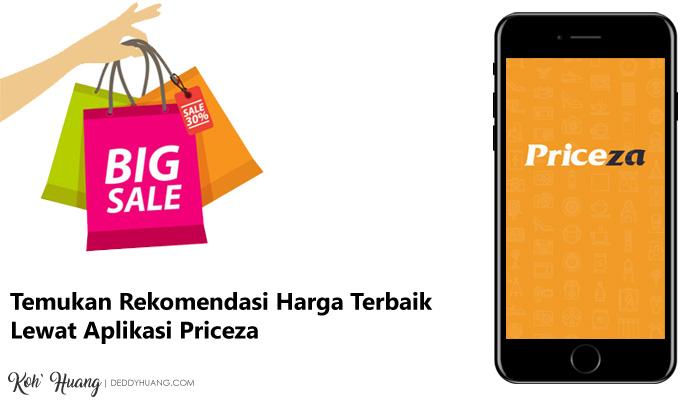 banner priceza - Temukan Rekomendasi Harga Terbaik Lewat Aplikasi Priceza