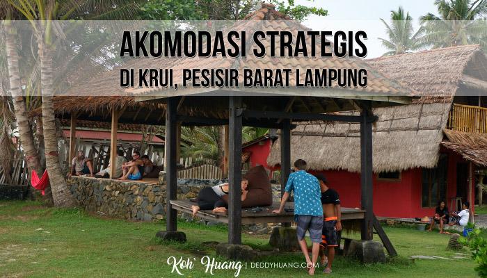 akomodasi strategis krui1 - Akomodasi Strategis di Krui, Pesisir Barat Lampung